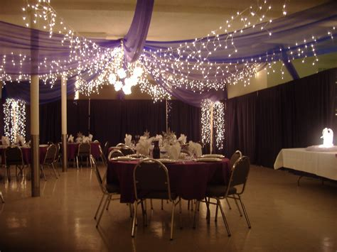 Tulle Crystal Icicle Lights Wedding Ceiling Canopy Kit Lights Wedding Reception