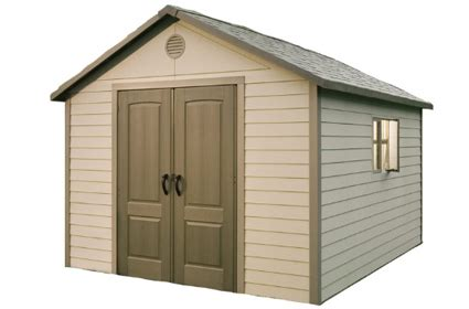 Lifetime Brighton Shed by Lifetime Shed 6433 Lifetime 11x11 Garden Shed Model 6433