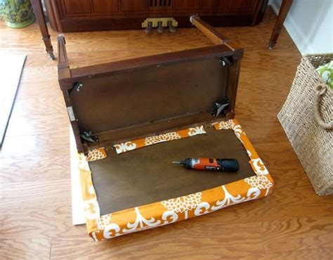 how to make a bench cushion without sewing 17 best ideas about piano bench on pinterest diy bench