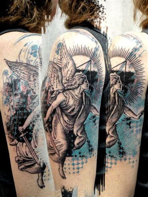 tattoo angel abstract abstract angel tattoo angel tattoos pinterest