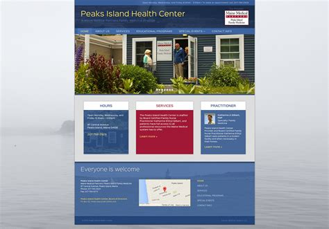 Maine Home And Design Peaks Island by Peaks Island Health Center Slickfish Studios A