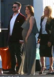 it s robert downey jr s 50th birthday instyle jack osbourne with pregnant wife lisa stelly at robert