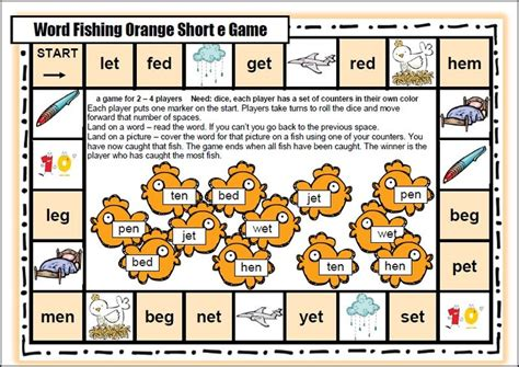 printable literacy board games short vowel cvc board games words learning and shorts