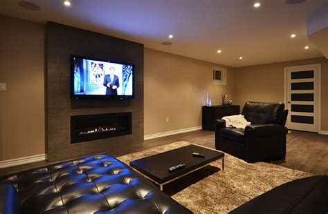 tv room finished basement home theatre room tv room surround