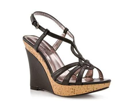 dsw black sandals charles by charles david luck 2 black wedge sandal dsw