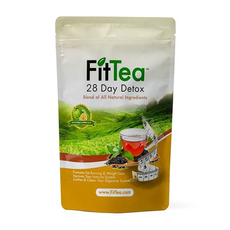 Oolong Tea Detox by Fit Tea 14 Day Detox Herbal Weight Loss Tea