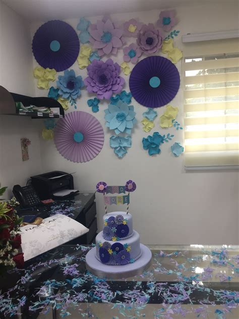 como decorar una oficina para mujer cumplea 241 os oficina mujer flores ideas decoraci 243 n