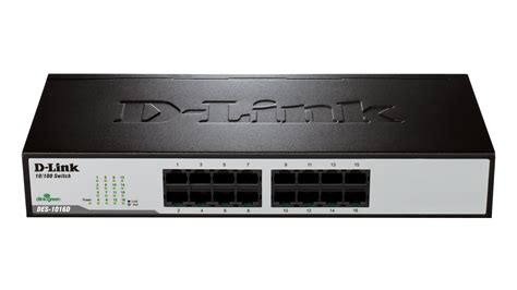 D Link Des 1016d 16 Port Switch des 1016d switch 16 ports 10 100mbps d link