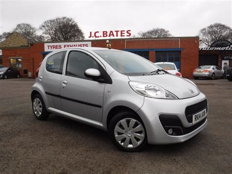 peugeot silver used silver peugeot 107 for sale west yorkshire