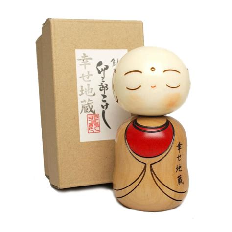 Handmade In Japan - japanese doll wooden kokeshi handmade in japan shiawaze