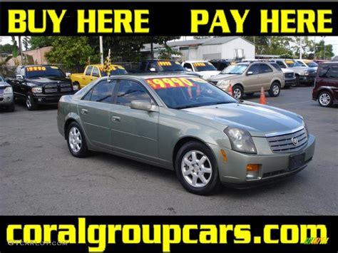 2004 cadillac cts silver 2004 silver green cadillac cts sedan 28723839 gtcarlot