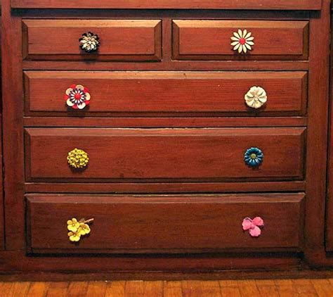 diy project kate s vintage brooch knobs design sponge