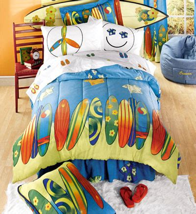 surfboard bedding boys surf bedding surf s up 8pc reversible bed in a