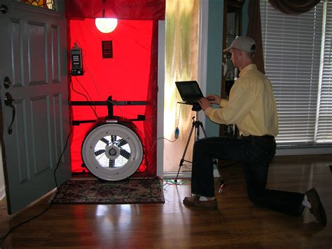 Blower Door Testing by Energy House Technology Hers Ratings