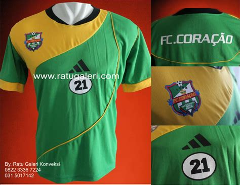 desain jersey bola vector contoh desain konveksi jersey bola dryfit fc