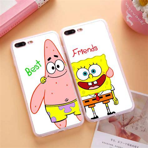Spongebob Iphone 5 5s 5c 6 6s Plus Samsung Xiaomi Sony Mi5 popular spongebob and best friends buy cheap spongebob and best friends lots