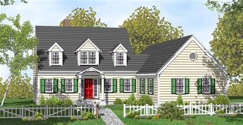 cape code house plans farmhouse plans cape cod house plans