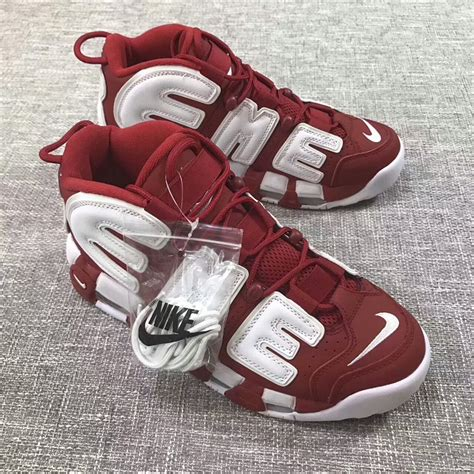 supreme shoes nike air more uptempo 215 supreme shoes for 540952 93