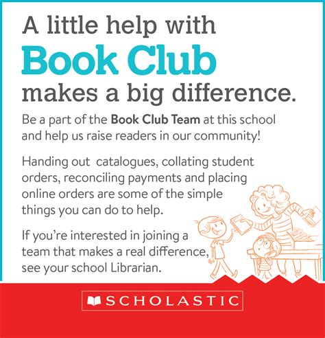 Parent Letter Scholastic Book Club Schools Bookclub Recruit Scholastic Australia