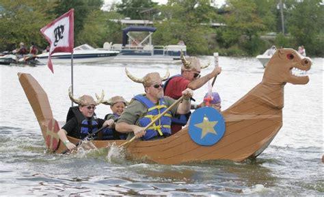 cardboard boat race awards fox lake cardboard boat race slated for sunday at