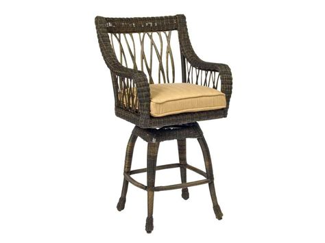 outdoor bar stool cushion covers woodard serengeti swivel bar stool replacement cushions