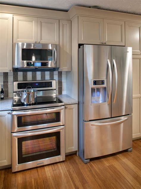 kitchens with stainless steel appliances photos hgtv
