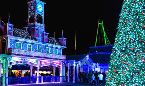 holiday lights lake compounce