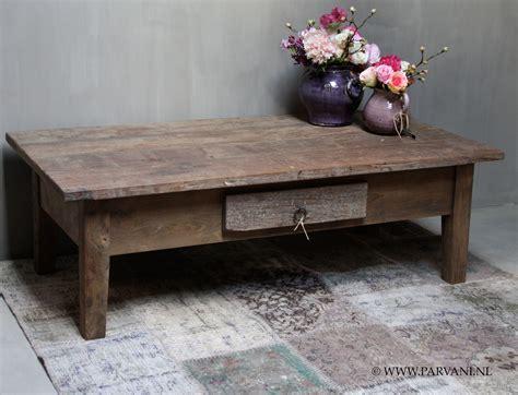 sobere salontafel parvani franse salontafel hoffz robuust teak hout