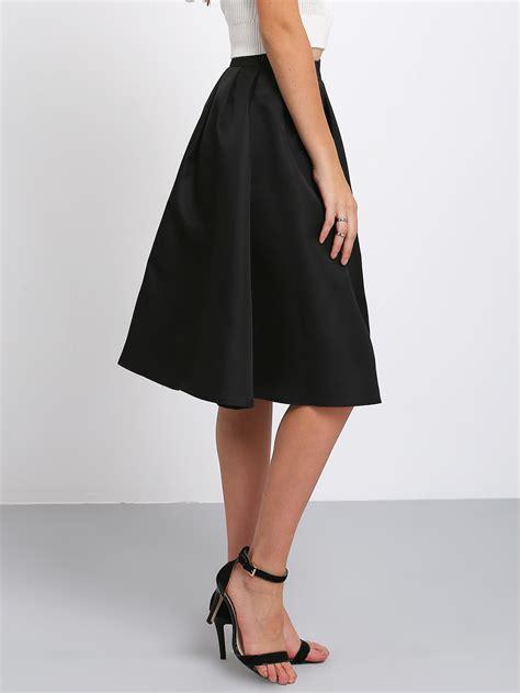 Flare Skirt Midi Excellent Quality flare pleated midi skirt