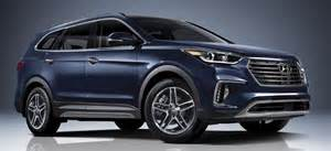 2017 hyundai 7 seat suv models on sale in united states