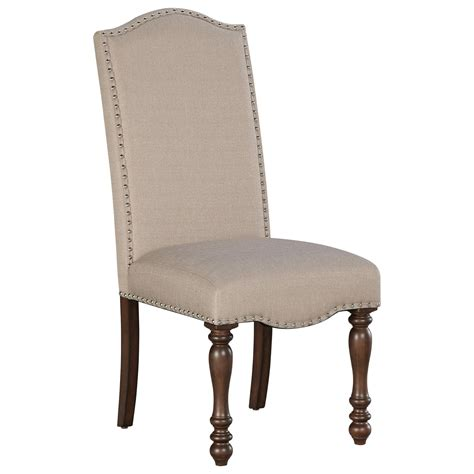 ashley furniture armchair signature design by ashley baxenburg traditional dining