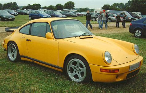 Porsche Yellow Bird by Ruf The King Of Porsche Tuners