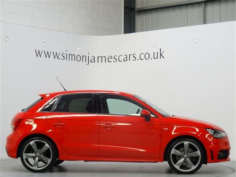 Audi A1 Sportback Misano Red by Used Misano Red Audi A1 For Sale Derbyshire