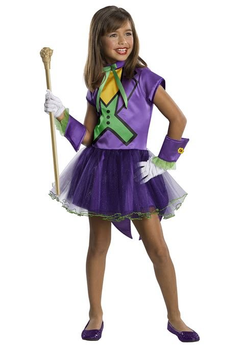 revealing little girl halloween costumes girls joker tutu costume