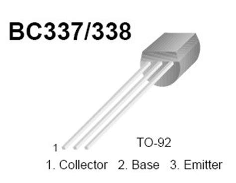 transistor bc337 caracteristicas transistor de audio peque 209 a se 209 al bc337 npn aplicaciones analogicas digitales punto flotante s a