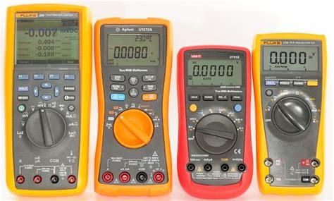 Digital Multimeter Fluke 117 fluke 115 vs 117 true rms multimeter which is better