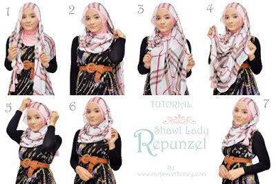 tutorial hijab kondangan remaja trend dan tutorial hijab remaja terbaru