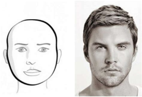 hair style men based on face male hairstyle exles hairstyles by unixcode
