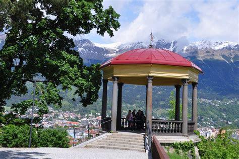 pavillon innsbruck sillschlucht bergisel rundwanderung