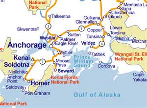Whittier Alaska Map by Pics Photos Seward Alaska Map Anchorage