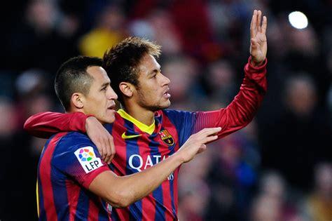 alexis sanchez y neymar alexis sanchez and neymar photos photos fc barcelona v
