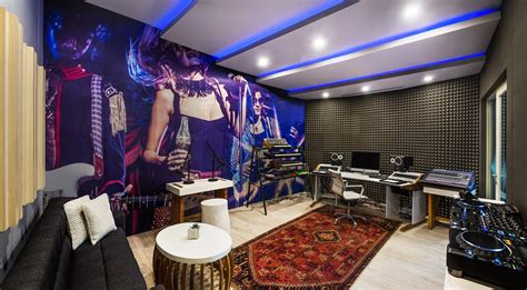 meet me at the hotel room song w hotels recording studio launch offers something different hotel designs