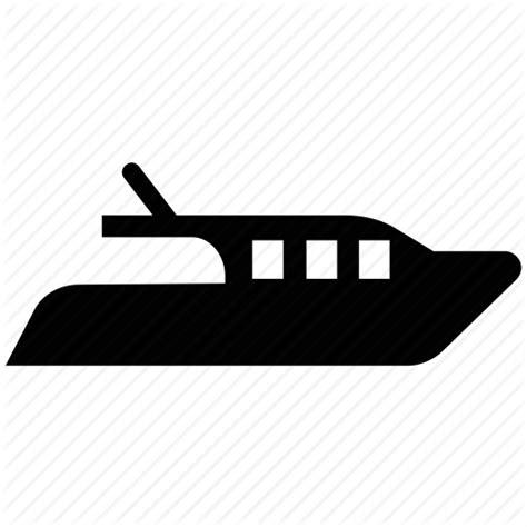 speed boat icon boat cabin cruiser motorboat powerboat speedboat