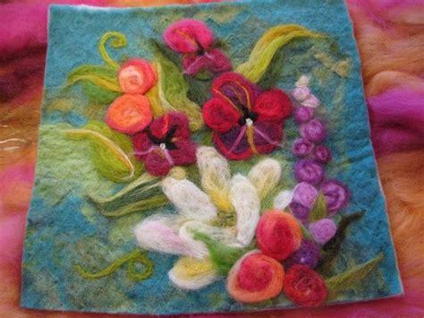 wool needle felting patterns needle felted garden kece