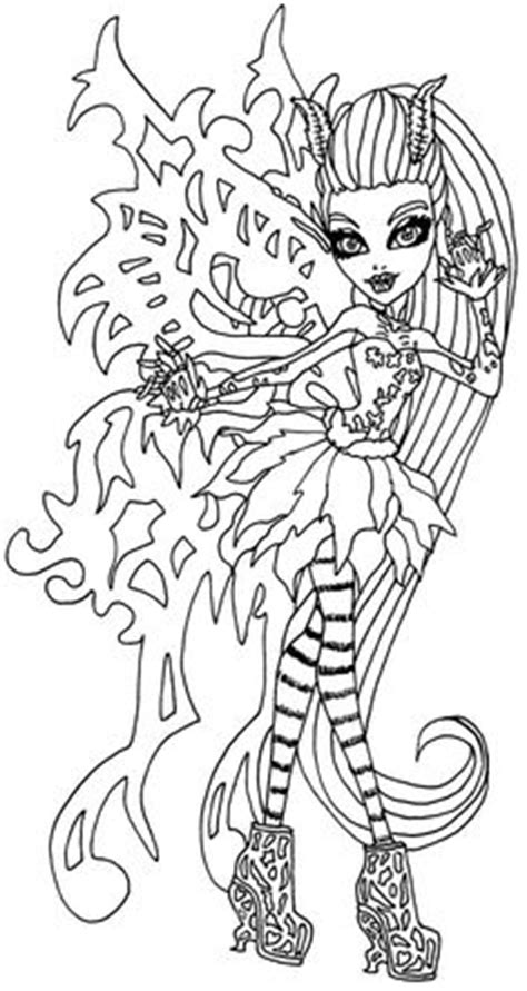 coloring pages monster high freaky fusion monster high freaky fusion neighthan rot colouring page