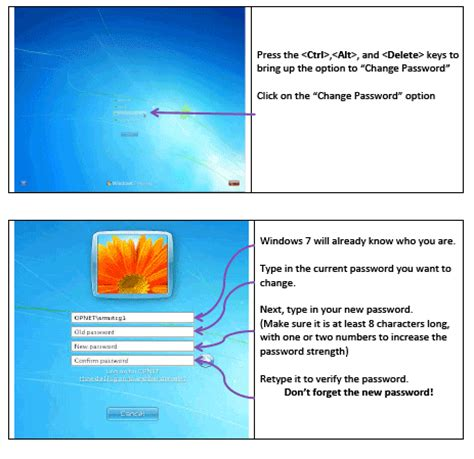 windows reset network password changing network passwords otago polytechnic