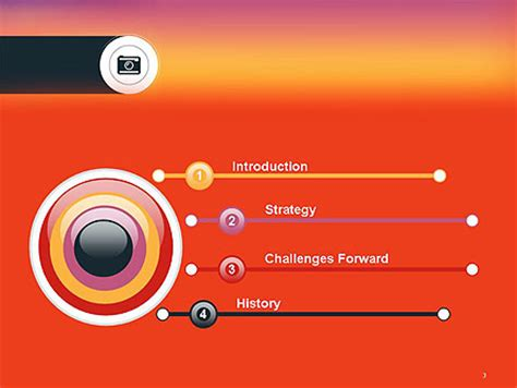 camera powerpoint templates photo camera icon powerpoint template backgrounds 14347