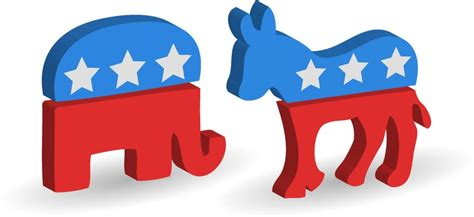 democratic symbol and color emilies us political