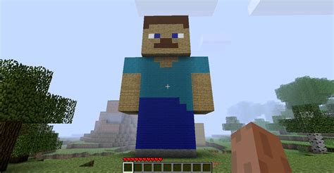 How To Make A Minecraft Steve Out Of Paper - minecraft steve build