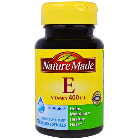 Suplemen Vitamin E nature made vitamin e 400 iu 100 liquid softgels